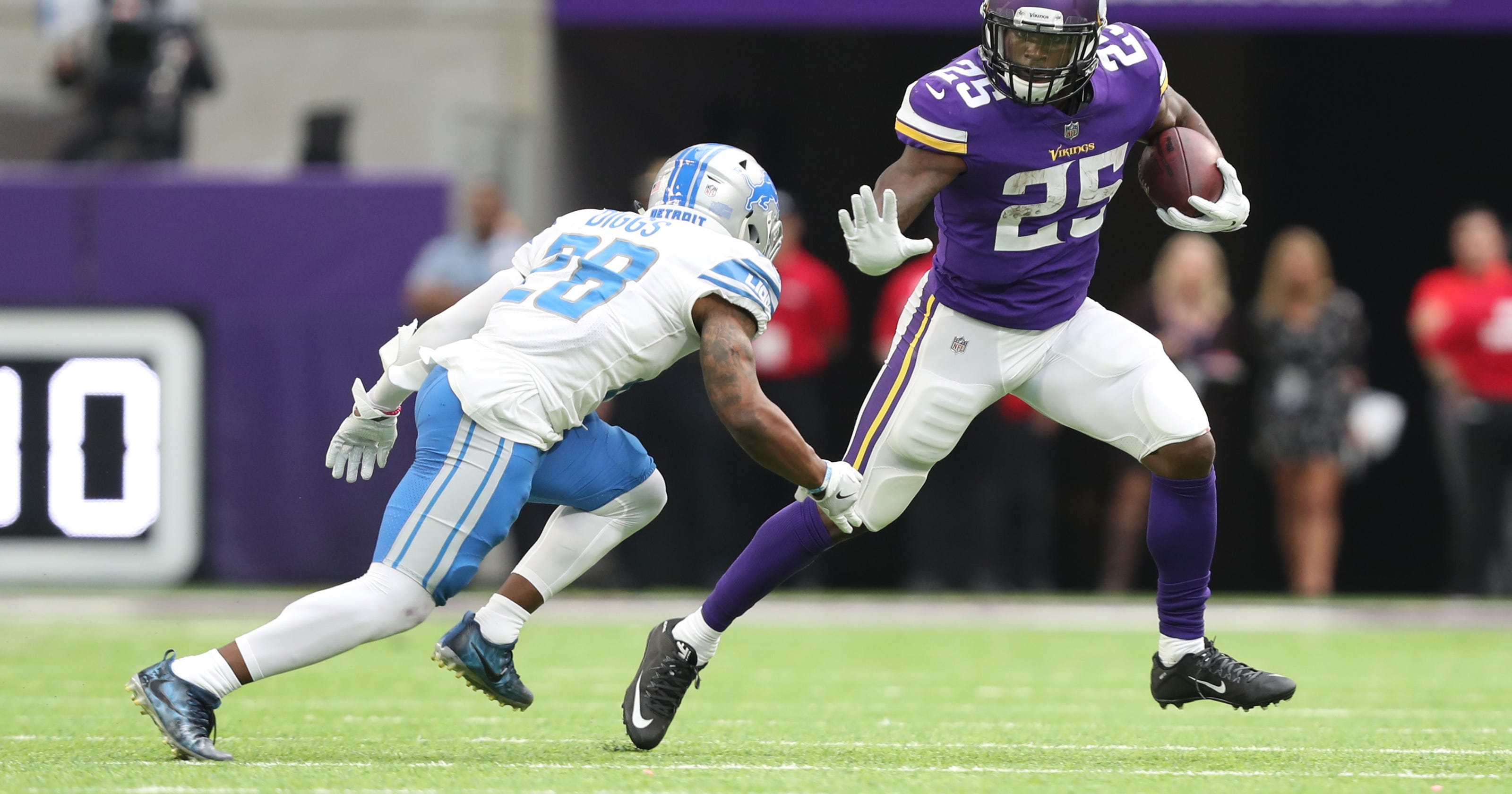 9ea48d43 Detroit Lions vs. Minnesota Vikings: Stopping the run key to victory