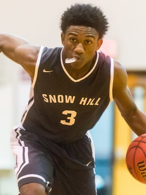 Snow Hill guard Ameer Fisher