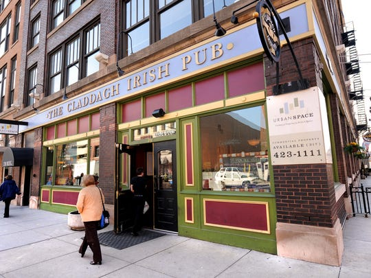 The Claddagh Irish Pub in downtown Indianapolis.