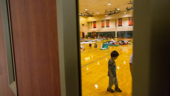 Oak Hammock Middle School has become an emergency storm shelter for residents in the area. There was a line out the door for hours as families registered for a spot to wait out hurricane Irma. Many families are following the governors call to seek shelter.