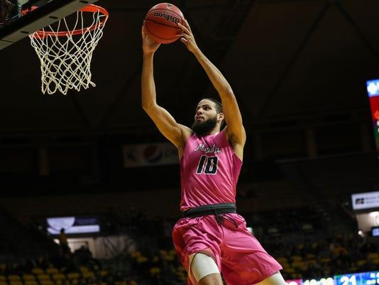 NCAA Basketball: Nevada at Wyoming