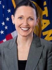 Lt. Gov. Angela McLean