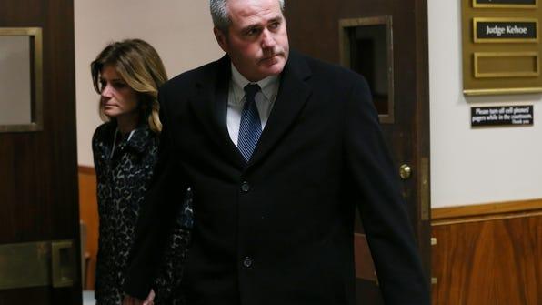 Businessman Daniel Lynch on Tuesday pleaded guilty