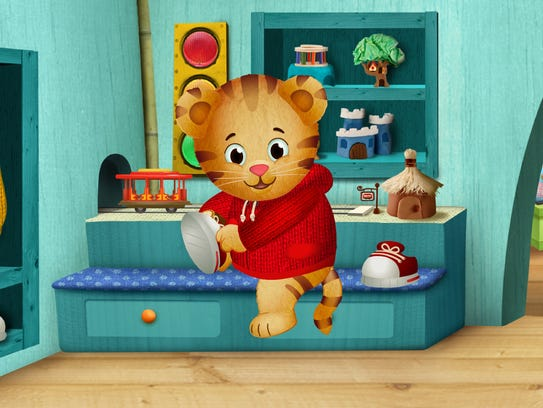 An image from the PBS Kids series 'Daniel Tiger's Neighborhood'.