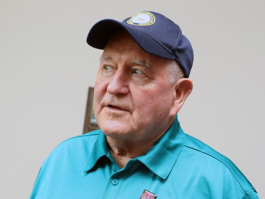 U.S. Secretary of Agriculture Sonny Perdue talked with