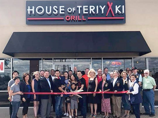 House of Teriyaki Grill & Japanese Ramen, 3204 Sherwood Way, Suite A, held a ribbon-cutting June 15. San Angelo Mayor Brenda Gunter, City Councilman Harry Thomas and members of the Chamber of Commerce and Concho Cadre were on hand to celebrate. The restaurant offers dishes such as yakisoba (Japanese pan-fried noodles) and gyoza (Japanese fried dumplings). Call 325-939-9293 for more information.