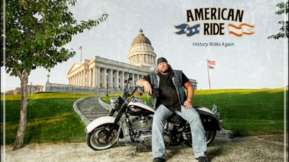 "A publicity shot for ""American Ride."""