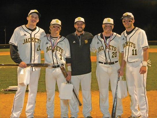 Fairview High Baseball Coach Matt Putnam poses with