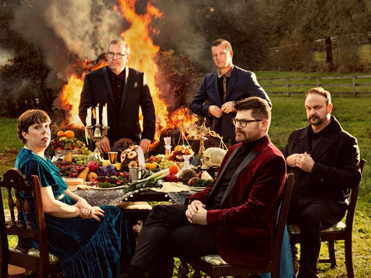 Portland, Oregon, group The Decemberists perform Saturday with M. Ward at the Shelburne Museum.