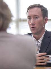 Attorney Matt Dinn was among legal professionals who donated their time to answer questions at the 2017 Money Smart Week event at the John H. Boner Community Center. A group of local attorneys will again offer free consultations during the 2018 Money Smart event April 25 at the center.