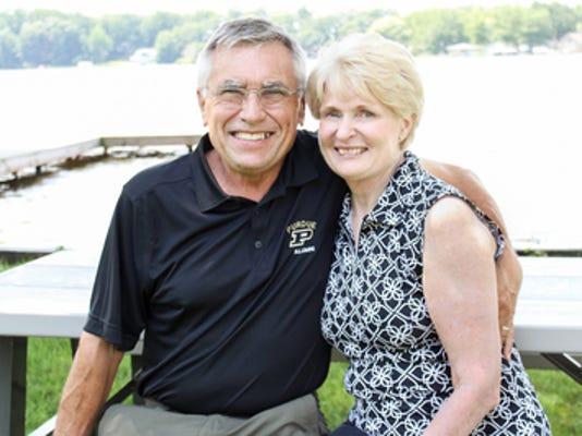 Anniversaries: Skip Holcomb & Sharon Holcomb