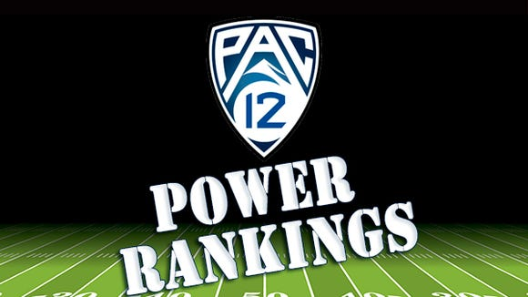 Pac-12 Power Rankings
