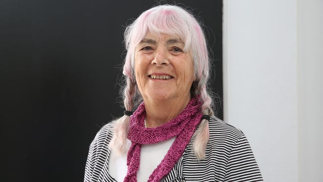 Judy Graham is an online hit with her knitting lesson videos.