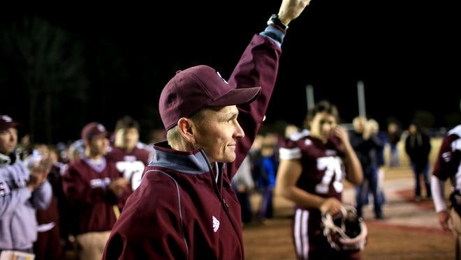 Swain County athletic director/football coach Neil Blankenship