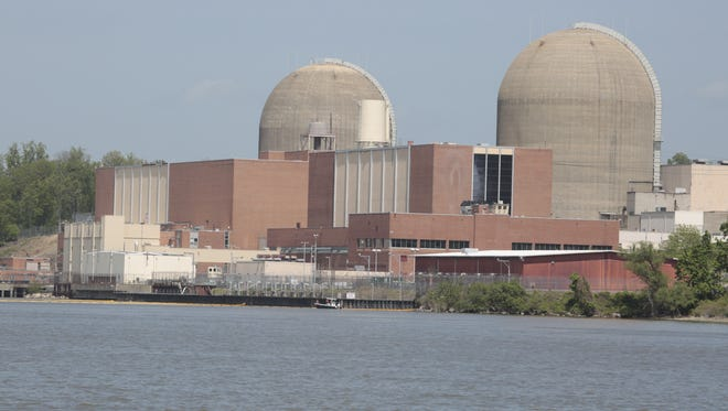 Indian Point nuclear power plant in Buchanan.
