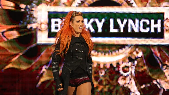 WWE Diva Becky Lynch will be at Germain Arena this Saturday as part of WWE Live. We took a bit of a detour with our normal In The Kitchen column to talk with Becky about pre-bout meals, crickets and toast.