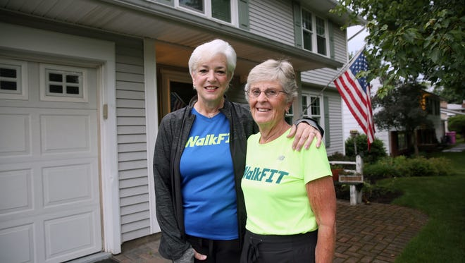 Mary Mort and Becky Kehoe are recovering well after they were both hit by a car during their daily 5-mile walk.