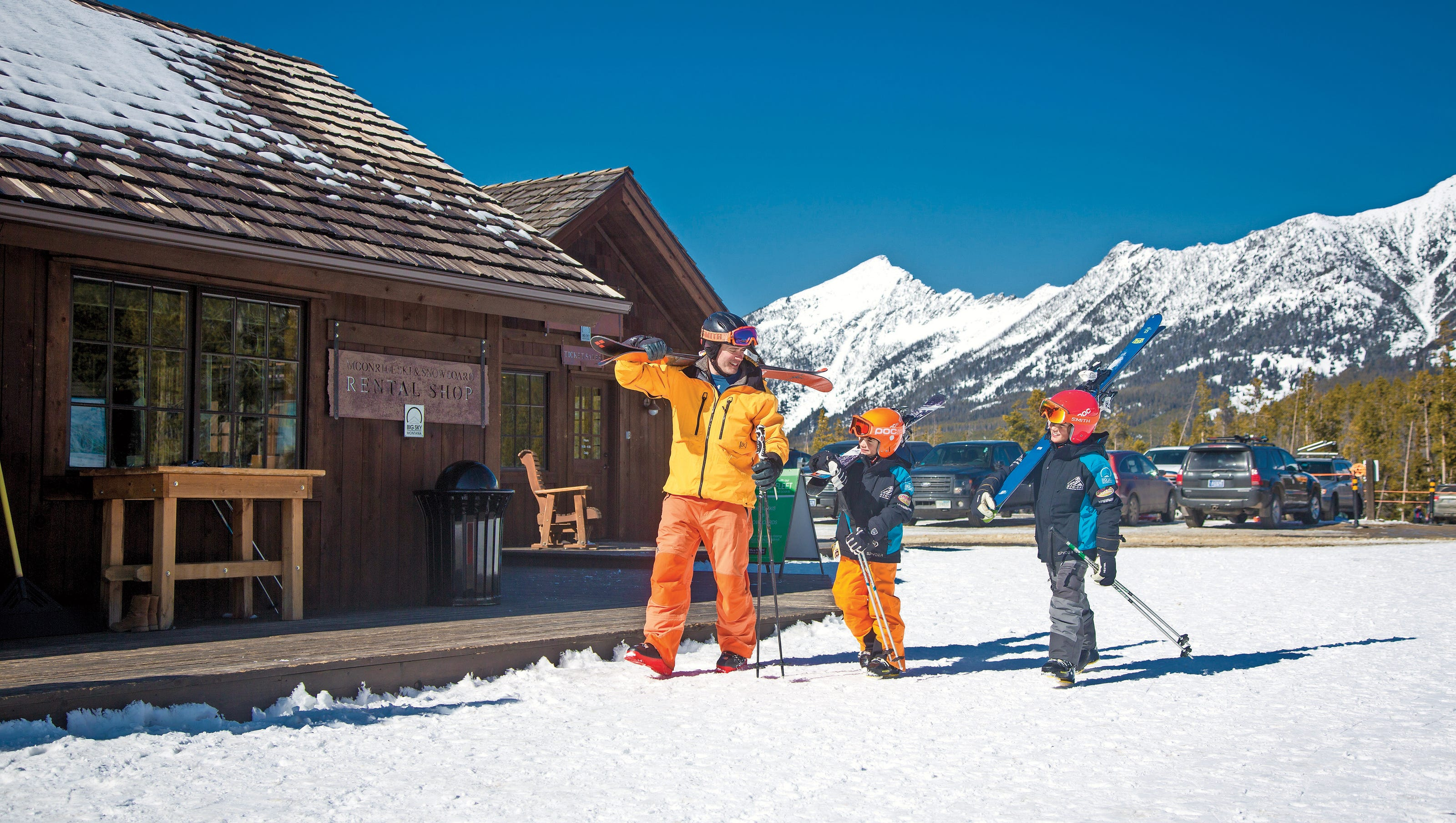 family friendly ski destinations: top resorts in north america