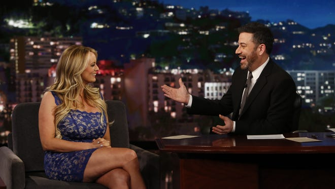 Porn star Stormy Daniels recently paid a visit to Jimmy Kimmel Live! Daniels claims she had an intimate relationship with Donald Trump more than a decade ago.
