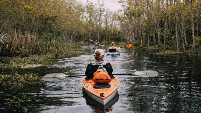 The Vermilion Voyage is a three-day guided paddle down the Vermilion river March 22-25.