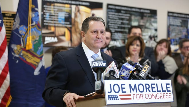 Joseph Morelle, a Democrat announced Monday, March 26 his plan to run for Louise Slaughter's congressional seat.