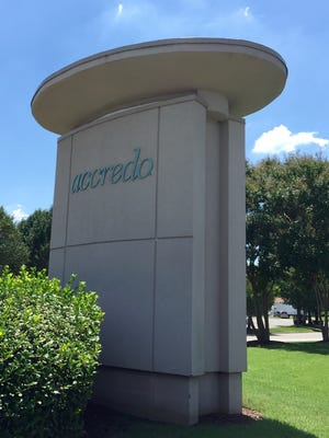 Accredo continues to renovate its office campus in Memphis.