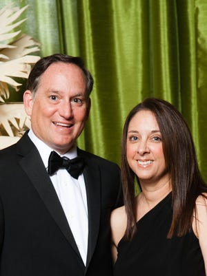 This year's Jupiter Medical Center Foundation Ball chairs are Dr. Lee and Shari Fox. The 41st Anniversary Black-Tie Ball will be at The Breakers Palm Beach on Saturday, April 1.