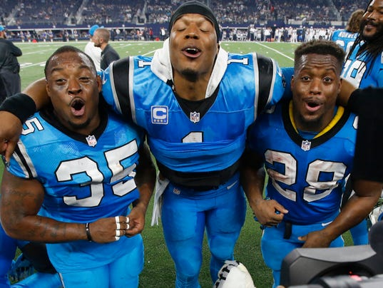NFL Jerseys Wholesale - Panthers' formidable run game could be key to victory in Super Bowl