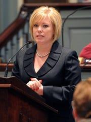 State Sen. Nicole Poore, D-New Castle