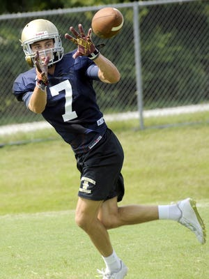 Independence senior Landon Guidry, a Mississippi State commitment, is one of seven returning starters for the Eagle defense.