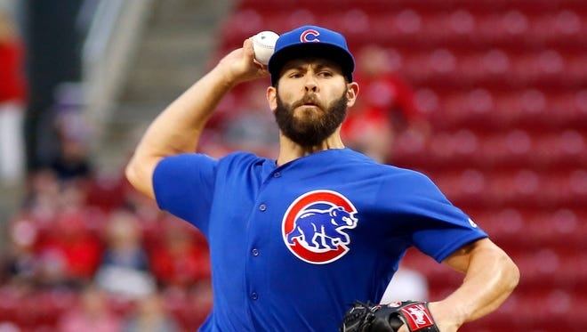 Jake Arrieta dominated the Reds for baseball's first no-hitter of the season.