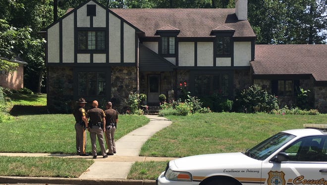 New Castle County police are investigating a possible home invasion in Talleyville.