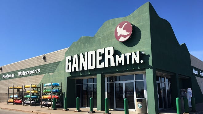 Gander Mountain will remain open in Grand Chute while its parent company searches for a buyer.