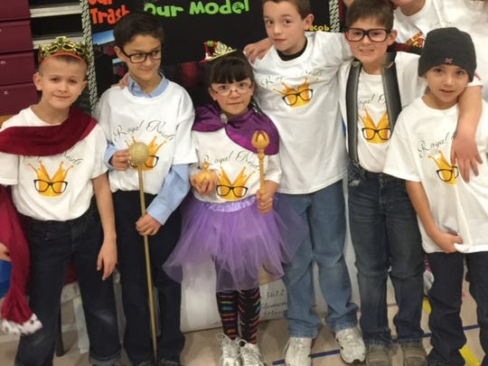 The Oregon Elementary Royal Nerds team members are: Reyna Mendez, Alice Parrish, Joey Monforti, Walter Allen-Snyder, Jacob Dodson and Jonah Neussendorfer. For their project they chose junk cars and what can be done with them.
