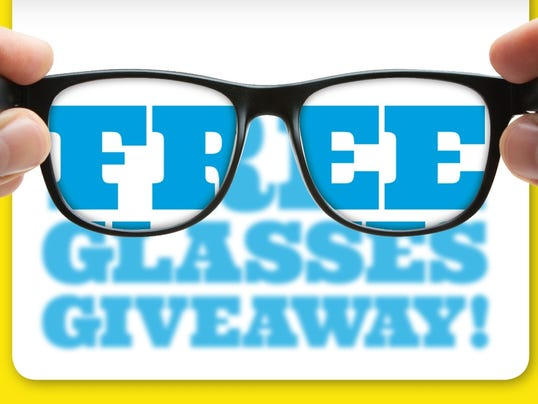 Free Glasses Giveaway