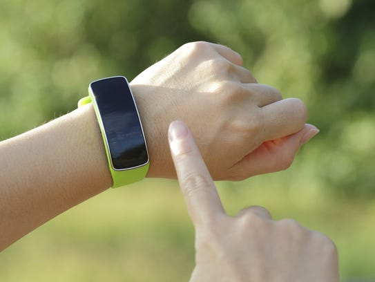 The FitBit wearable technology and Map My Run are tops