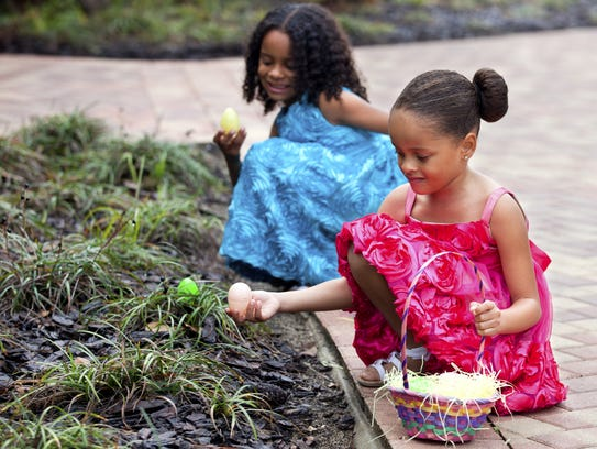 Churches will host Easter egg hunts this weekend.