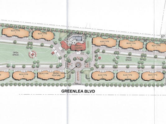 GreenLea Commons render