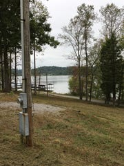 A view of Kentucky Lake and Cane Creek Boat Dock from a prime camping spot at the western Houston County marina and campground, which is scheduled to reopen in the spring