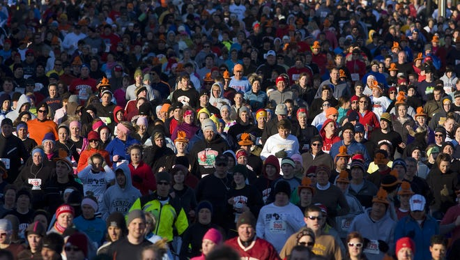Springfield's  Turkey Trot has become the largest Thanksgiving Day 5k event in Missouri.