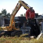 Demolition begins at former hospital