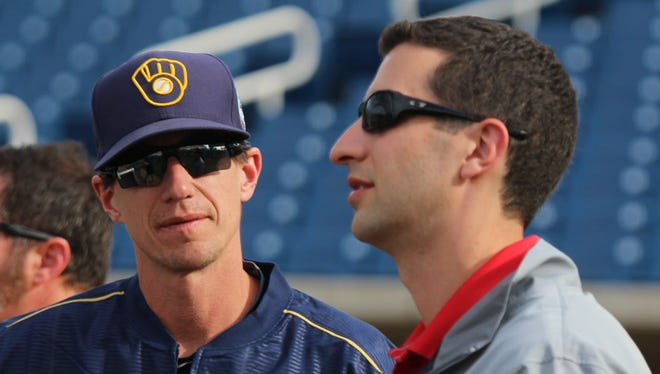 Manager Craig Counsell and general manager David Stearns have the Brewers on the right track.