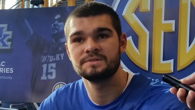 University of Kentucky sophomore Isaac Humphries was surprised to be invited to SEC Media Days.