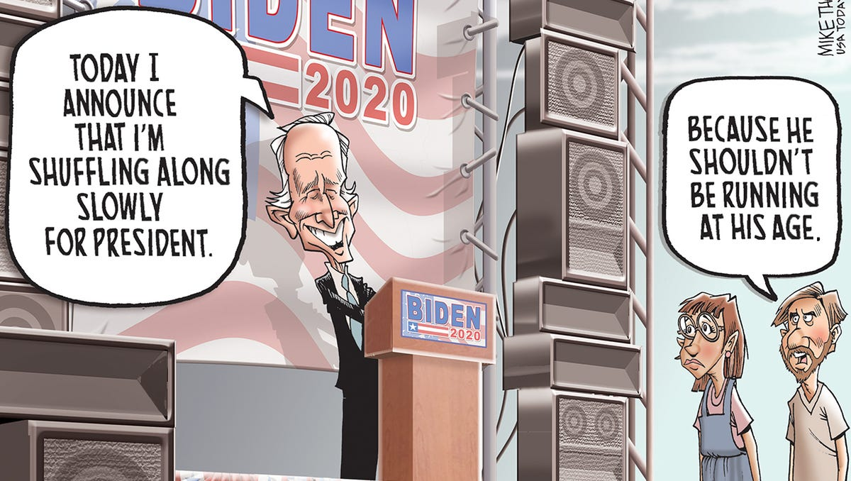 Joe Biden cartoon gallery: Biden, Harris, Democrats and more