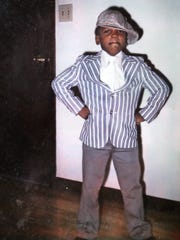 Jason Whitlock is shown in an Easter outfit he wore as a young boy growing up in Indianapolis.