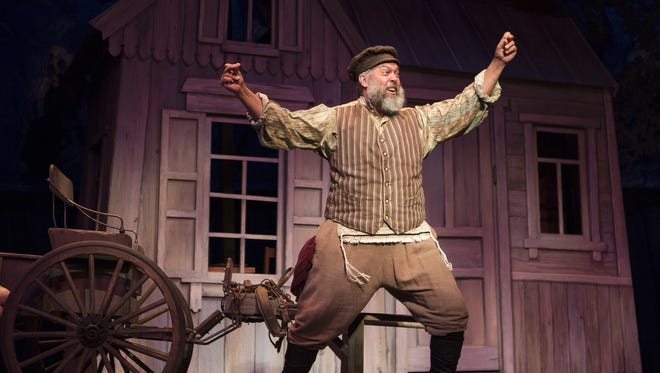 "Eric Polani Jensen stars as Tevye in Arizona Theatre Company's ""Fiddler on the Roof."""