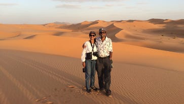 Travel with the D to the Sahara