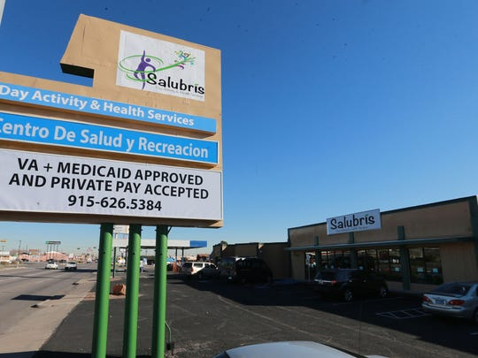 Salubris Day Activity and Health Services is at 8434 Dyer.