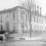 The new Board of Supervisors chamber about 1896.