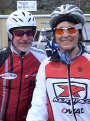 John Maurice and his wife, Joanne Heilinger, of Keizer met on a Salem Bicycle Club ride and have been pedaling through life together ever since.
